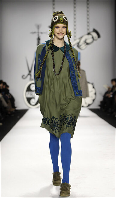 Fashion Anna Sui Fall 2012