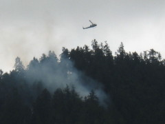 Small plane crash SW of Canyonville, OR