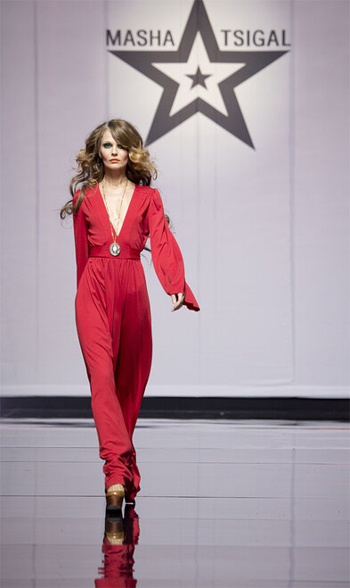Moscow Fashion Week Masha Tsigal