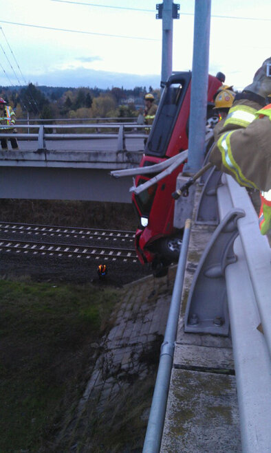 Overpass Crash