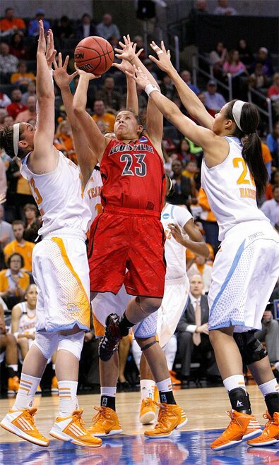 NCAA Louisville Tennessee Basketball