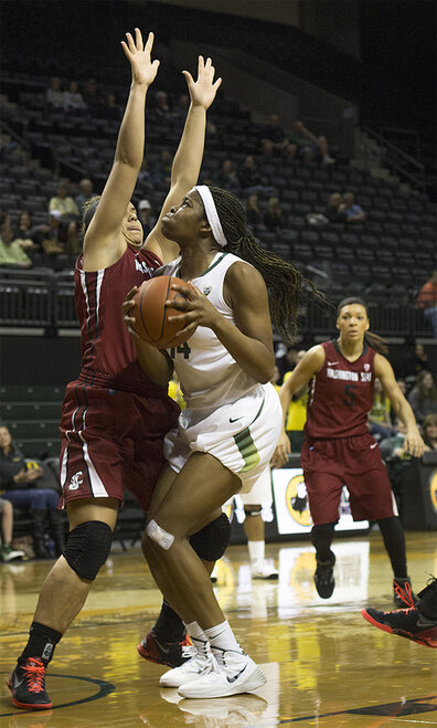 Oregon women take 82-66 victory over Washington State 17