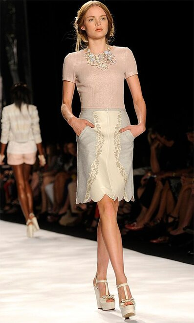 Fashion Badgley Mischka Spring 2013