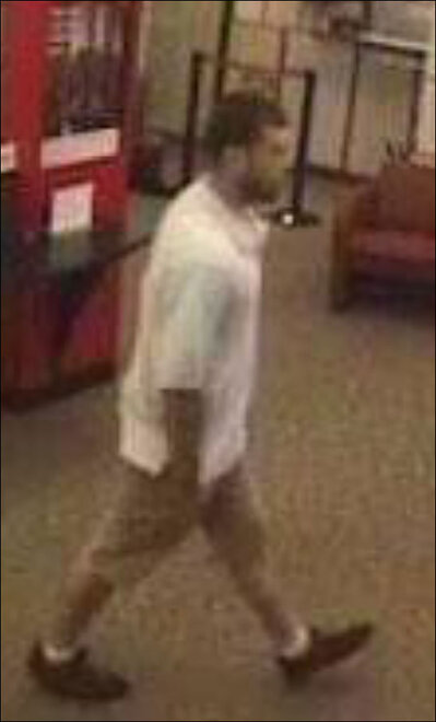 Wells Fargo robbery suspect