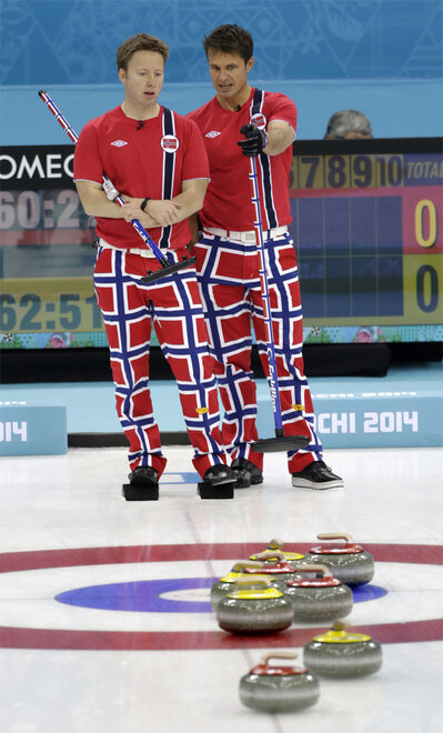 Sochi Olympics Curling Men