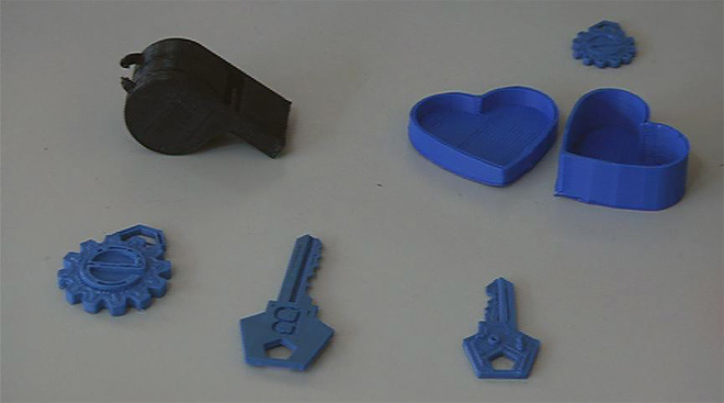 Print out a key or whistle? Welcome to the era of 3-D printing