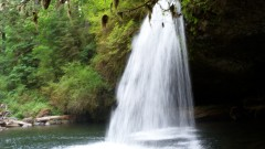 Upper Butte Creek Falls