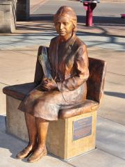 Rosa Parks LTD Statue Dedicated