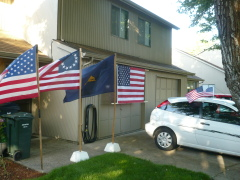FLAG Day Home Display !