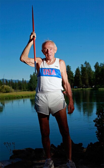 Elderly Decathlete