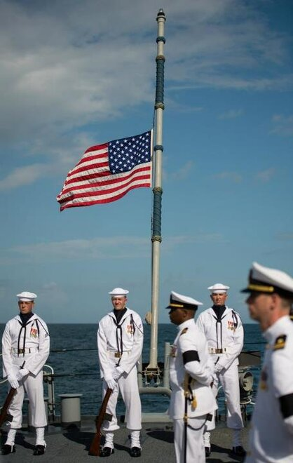 Astronaut Neil Armstrong Buried At Sea