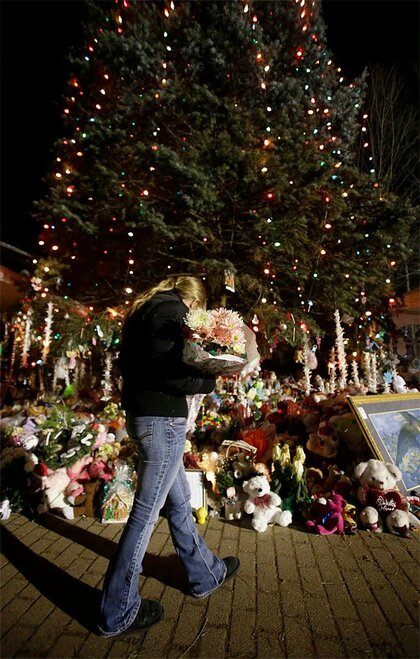 Connecticut School Shootings-Facing Christmas