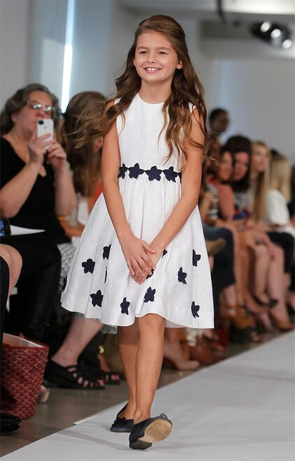 Fashion Oscar de la Renta Childrenswear Spring 2013