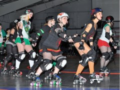 Evil Vs Good Roller Derby Bout  #3