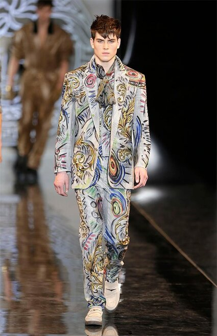 Italy Fashion Versace