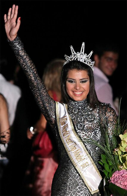 Mideast Lebanon Miss World Next Top Model