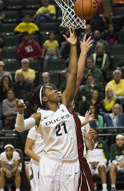 Oregon women take 82-66 victory over Washington State 06