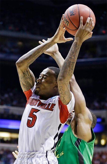 NCAA Oregon Louisville Basketball