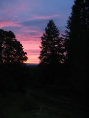 Sunset in beautiful Springfield, Oregon