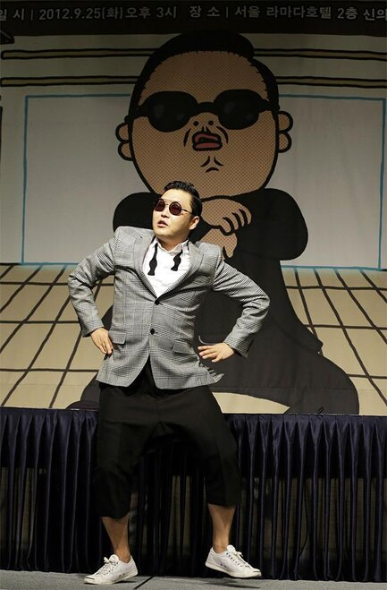 South Korea Gangnam Style Business