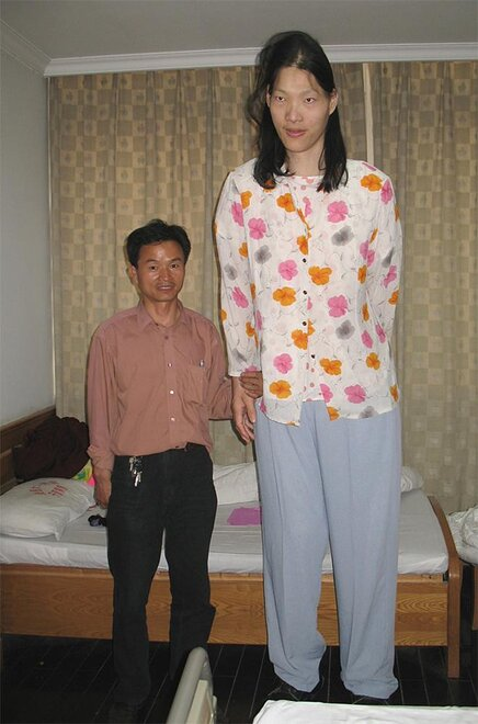 China Tallest Woman Death