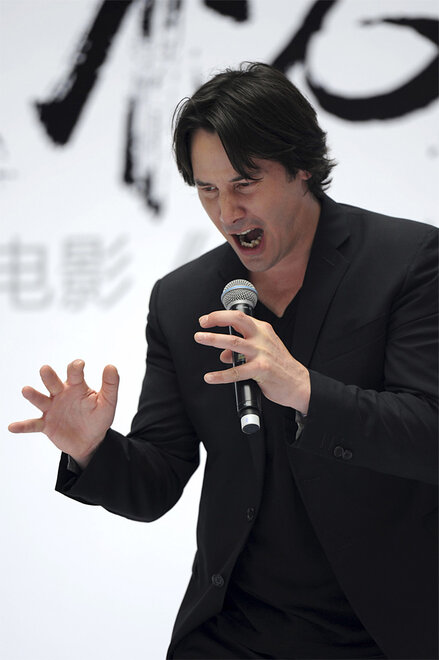 China Keanu Reeves
