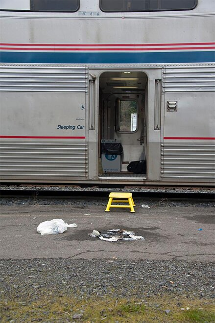 Passenger starts fire on Amtrak train (Photo by Tristan Fortsch - KVAL.com Staff)
