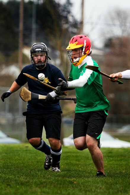 NewsLab visits the Eugene Trappers hurling team (3)