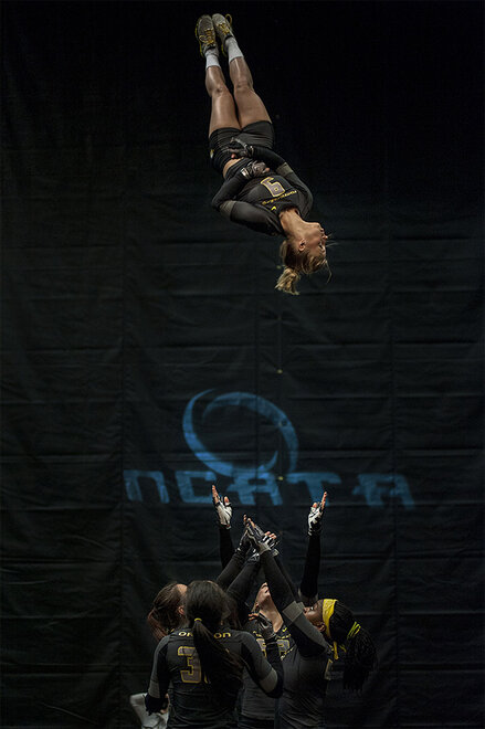 Oregon Acrobatics and Tumbling wins 4th consecutive NCATA Title - 03 - Oregon News Lab Photo