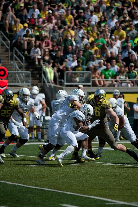 Oregon Spring Game 2013_Photo by Tristan Fortsch - KVAL News 20