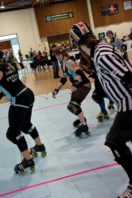 The Big O Derby - Sick Town Derby Dames vs Slaughter County Roller Vixens 42 _Friday 5-17
