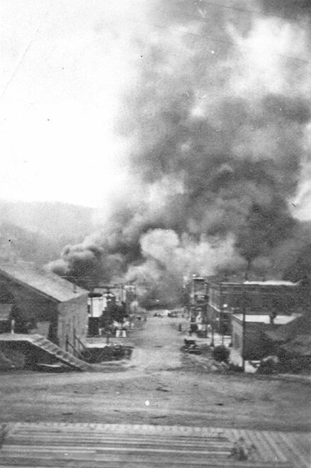 Sumpter fire of 1917