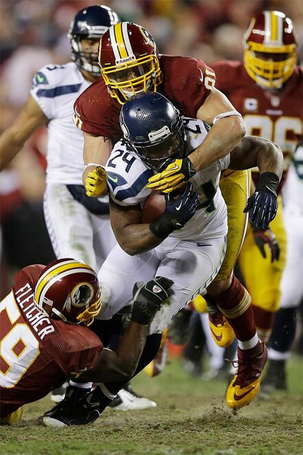 CORRECTION Seahawks Redskins Football