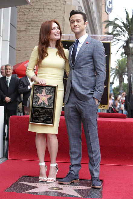 Julianne Moore Receives a Star on the Hollywood Walk of Fame