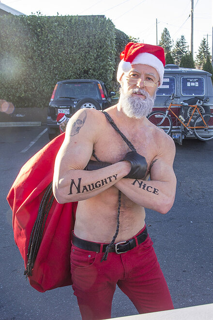 North Portland SantaCon