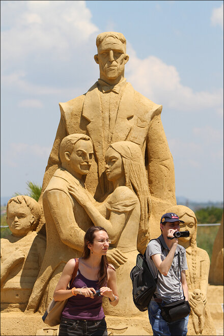 International Sand Sculpture Festival 2014
