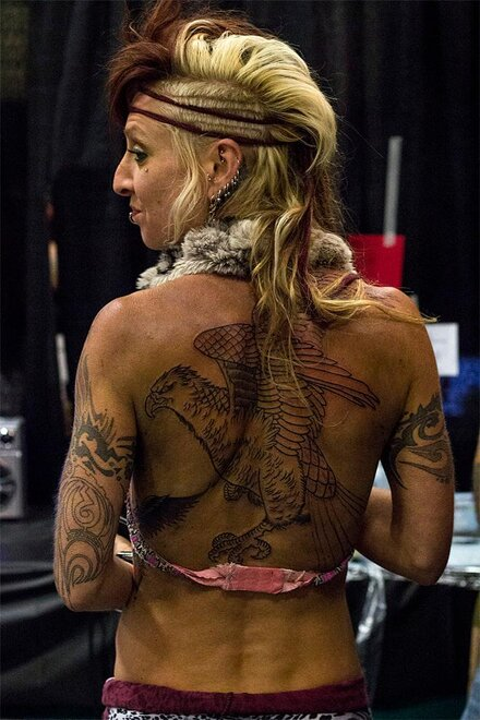 5th Annual Oregon Ink Tattoo Festival - Kaitlin Paur, Oregon NewsLab