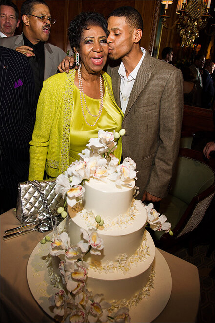 Aretha Franklin's 72nd Birthday Party