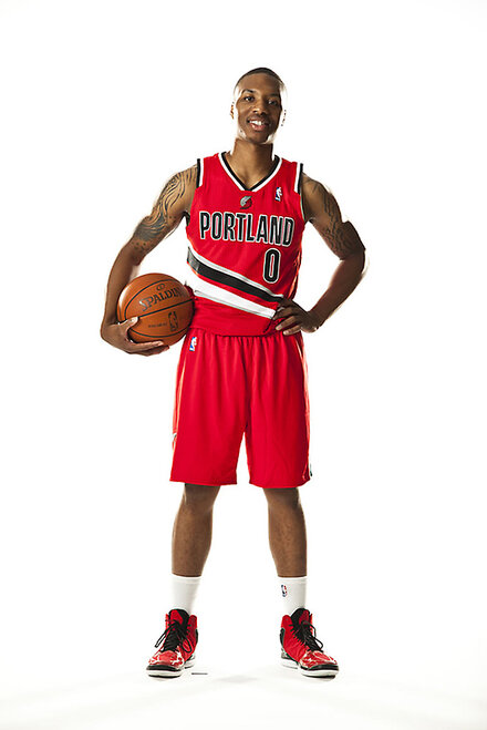 Blazers red uniforms (6)