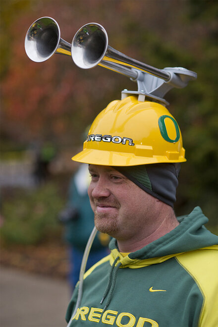 ESPN College GameDay visits the UO campus - Oregon News Lab 07