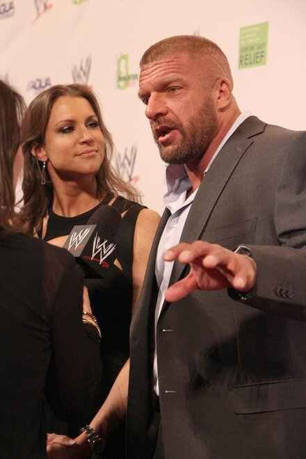 HHH and Stephanie McMahon