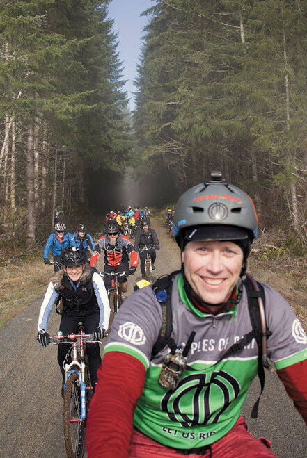 All Comer's Meet group ride