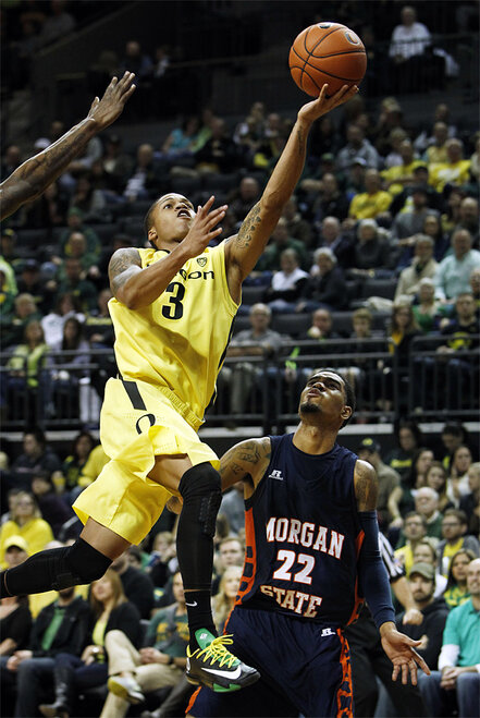 APTOPIX Morgan St Oregon Basketball