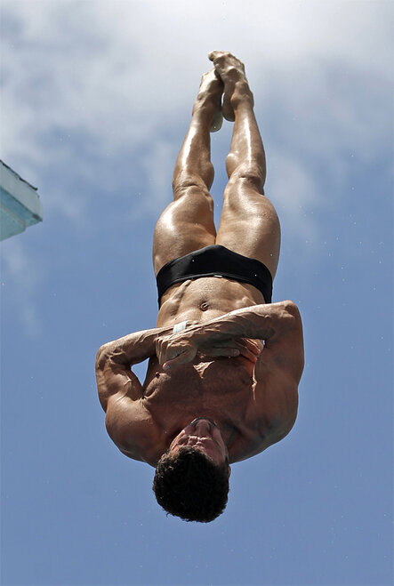 APTOPIX Grand Prix Diving