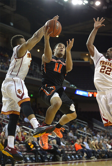 Oregon State USC Basketball