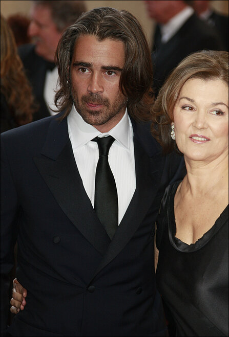 Colin Farrell and mother Rita Farrell