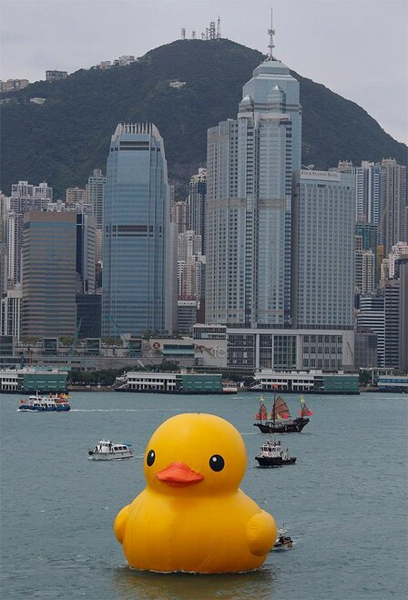Hong Kong Rubber Duck