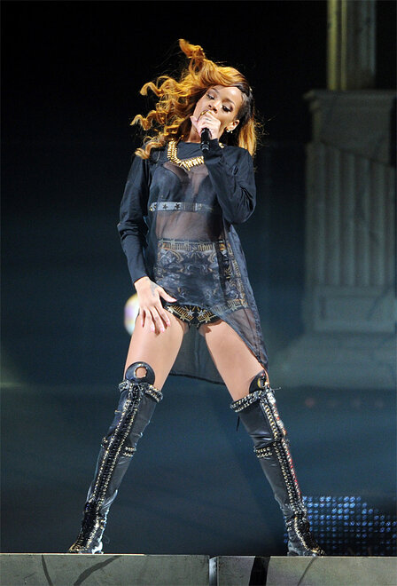 Rihanna Performs At The Barclays Center