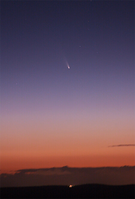 Visible Comet