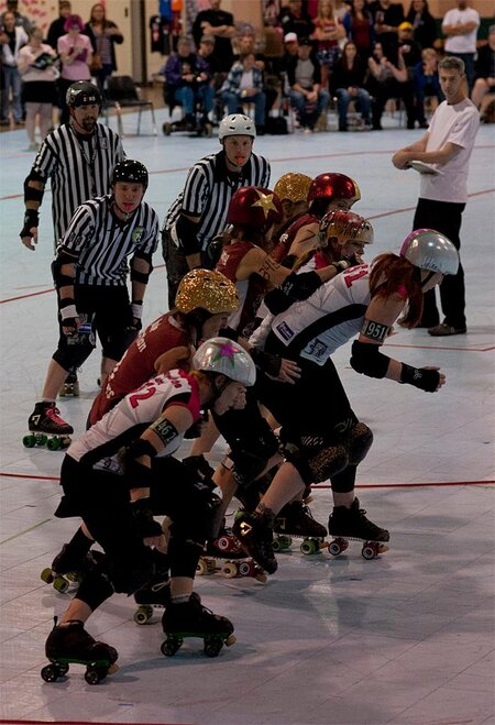 The Big O Tournament - Treasure Valley Roller Girls vs Humboldt Roller Derby 01 _Friday 5-17